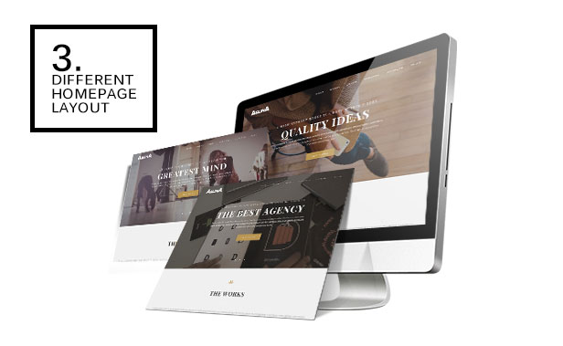Aslina - Responsive One Page Portfolio Theme