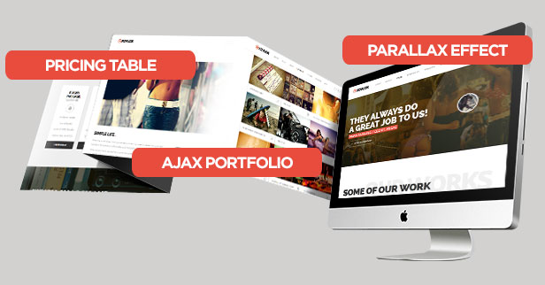 Xovlox - One Page Parallax Portfolio Template